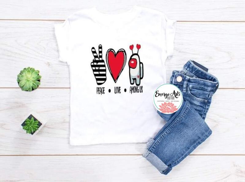 Peace Love Among Us Shirt