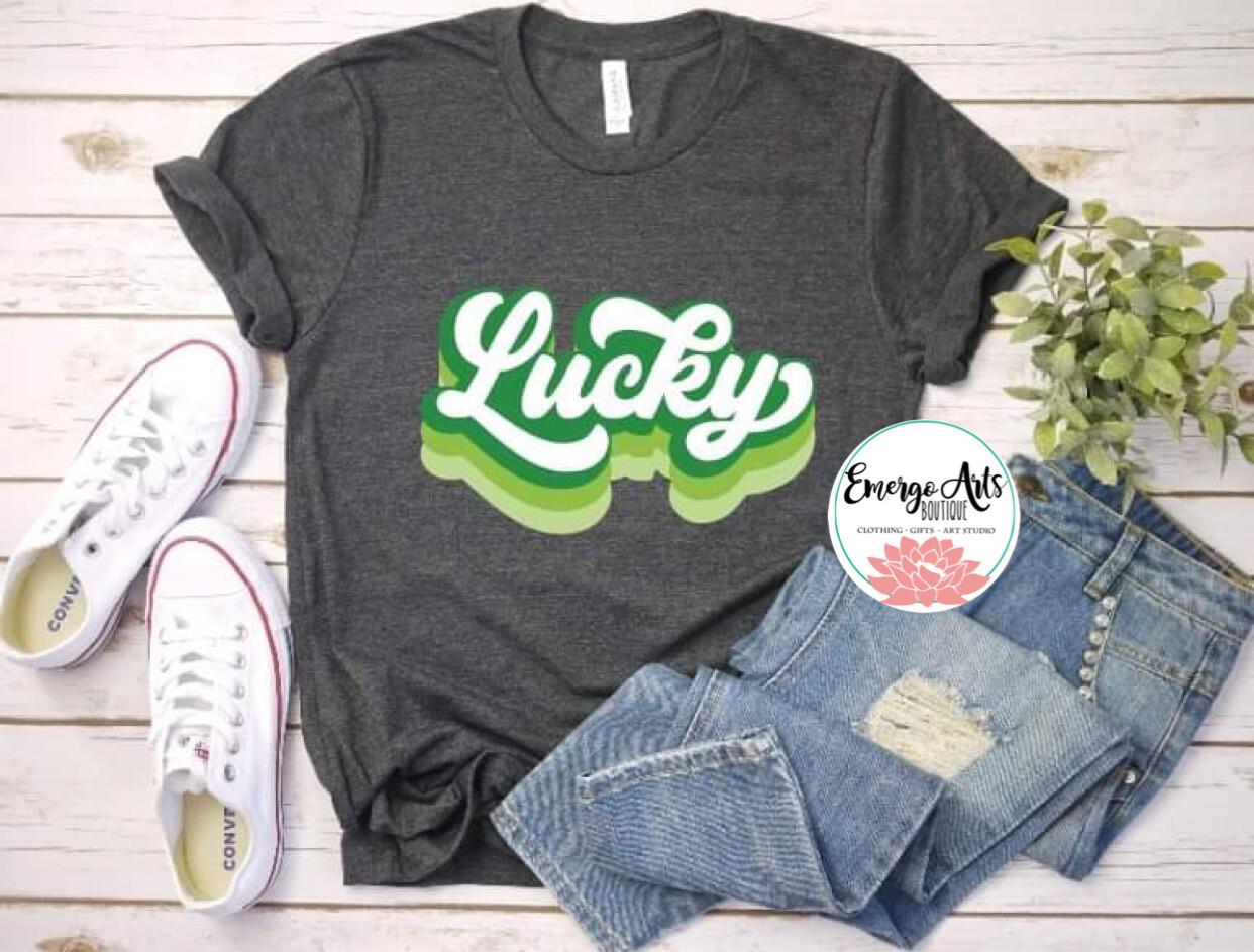 Lucky Lucky Tee Shirt
