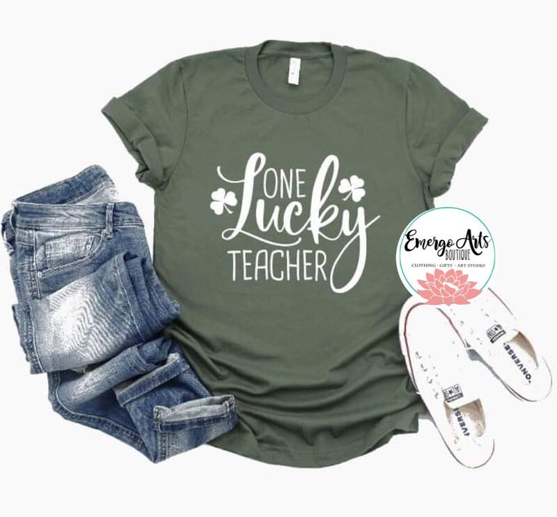 Lucky Teacher Tee