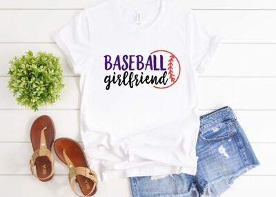 Baseball Girlfriend Tee Shirt