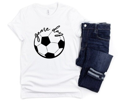Game day Soccer Tee Shirt