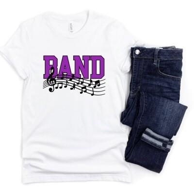 School Band Marching Band Tee Shirt