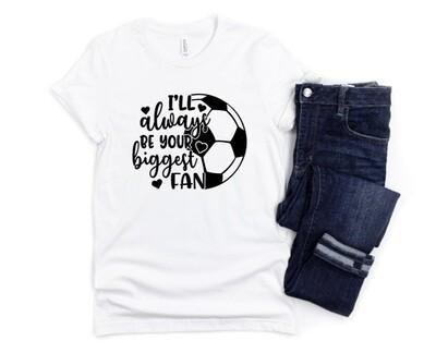 Biggest Soccer Mom Tee Shirt