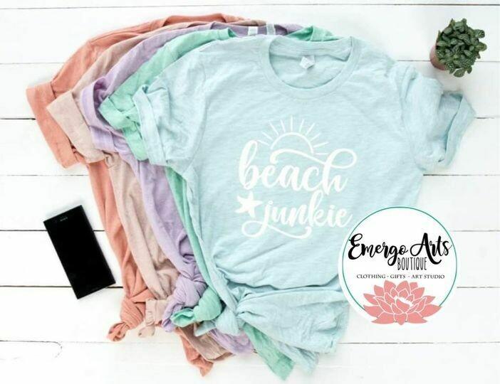 Beach Junkie Tee Shirt