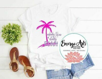 Shady Beach Tee Shirt