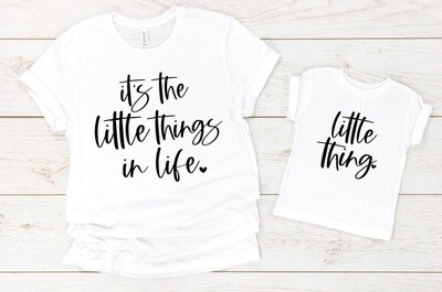 It's the little Things Mom Shirt