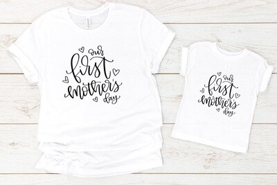 Our First Mother's Day Mom Shirt
