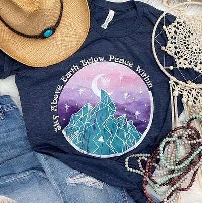 Sky Above Earth Below Shirt