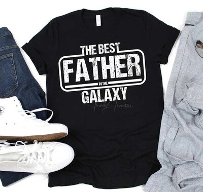 Best Father in the Galaxy Shirt