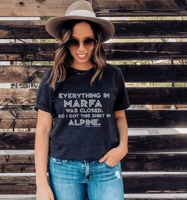 Marfa Texas Alpine Tee