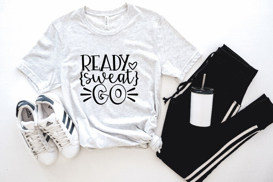 Ready Sweat Go Tank or Tee