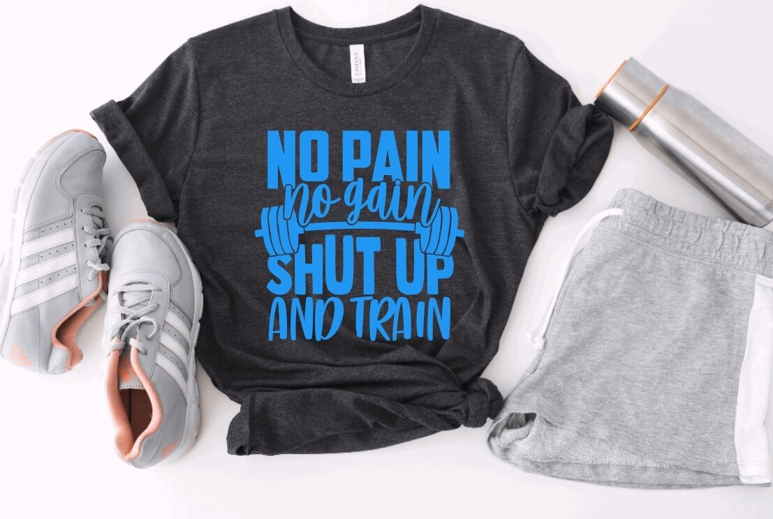 Shut up and Train Tank or Tee