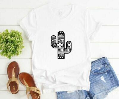 Aztec Cactus Tee