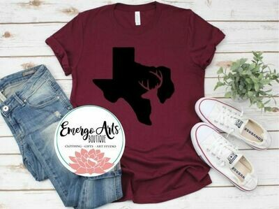 Texas Buck Tee