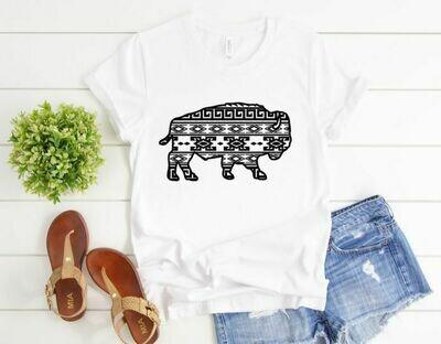 Aztec Buffalo Tee