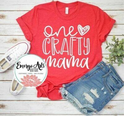 One Crafty Mama Tee