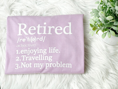 Retired Definition Tee