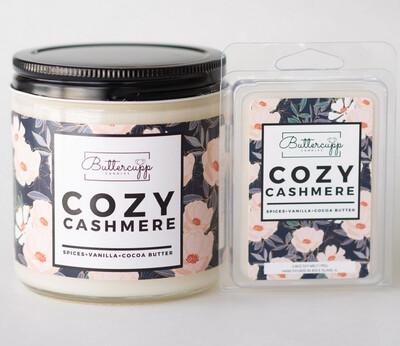 Cozy Cashmere  - Buttercup Candles (Multiple Sizes)