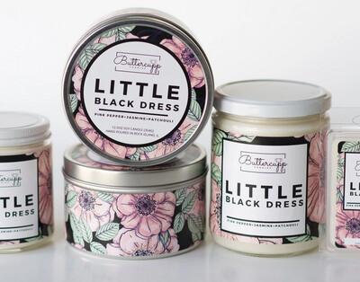 Little Black Dress  - Buttercup Candles (Multiple Sizes)