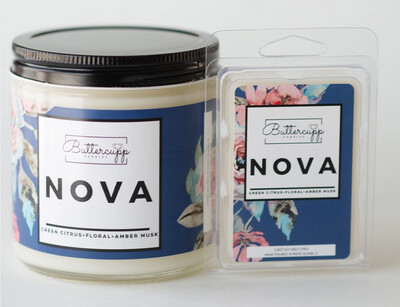 Nova  - Buttercup Candles (Multiple Sizes)