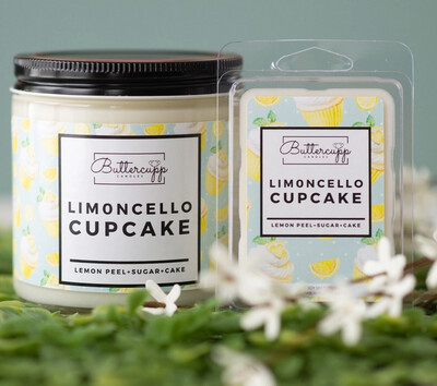 Limoncelle Cupcake  - Buttercup Candles (Multiple Sizes)