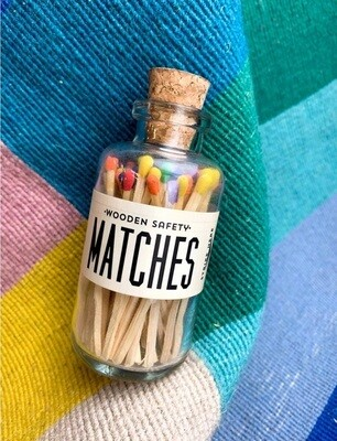 Rainbow Mini Matches