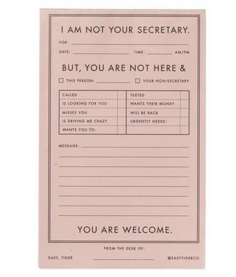 Notepad Secretary