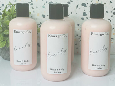 Lovely - Hand & Body Lotion
