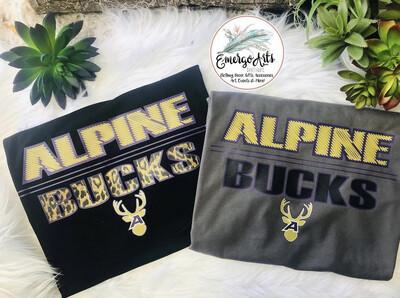 Leopard Bucks Alpine Bucks Spirit Tee