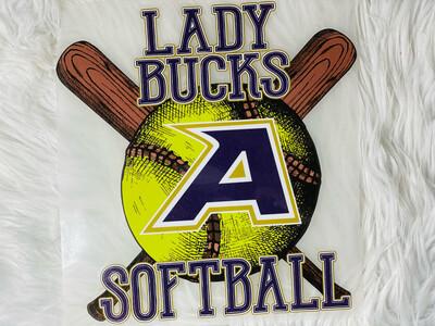 Lady Bucks Softball Alpine Texas Bucks Spirit Tee