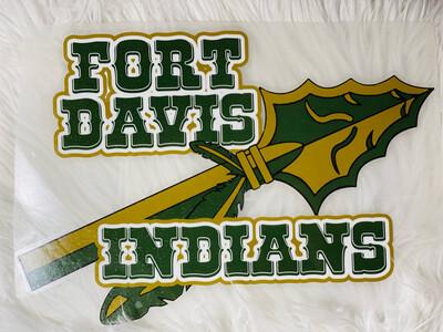Fort Davis Indians Spirit Tee