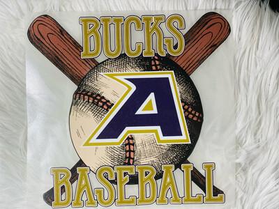 Bucks Baseball Alpine Texas Bucks Spirit Tee