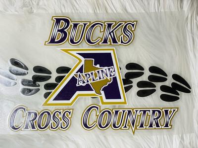 Bucks Cross Country Alpine Bucks Spirit Tee