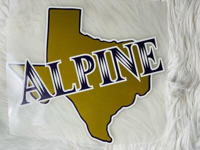 Alpine Texas Bucks Spirit Tee