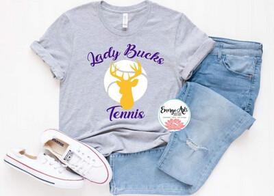 Alpine Lady Bucks Tennis Spirit Tee