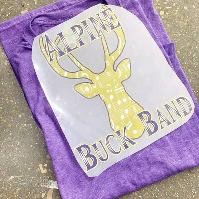 Buck Band Alpine Texas Bucks Spirit Tee