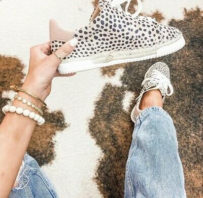 Leopard Espadrille Sneakers