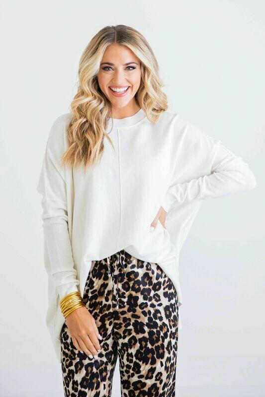 Leopard Satin Joggers