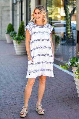 J. Marie: Paisley Dress