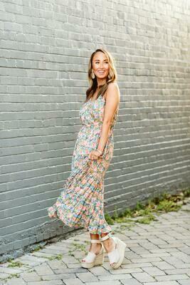Joy Joy: May Flowers Midi Dress