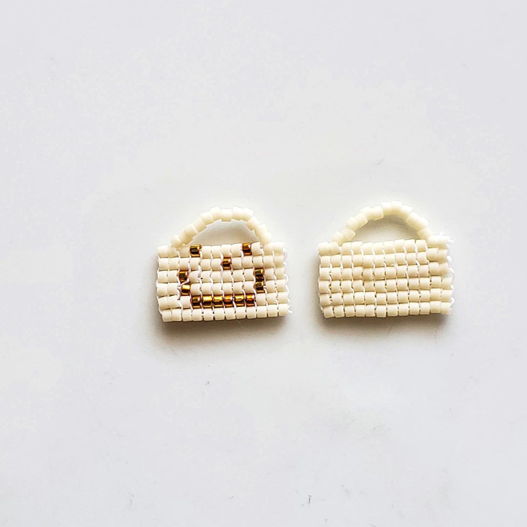 Minimalist Handmade Beaded Earrings