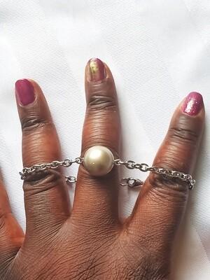 Light Brown Swarovski Pearl Bracelet