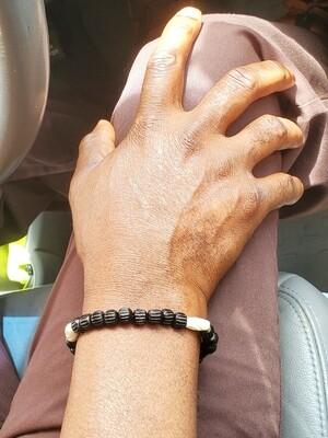 Men's Handmade Bone Bracelet