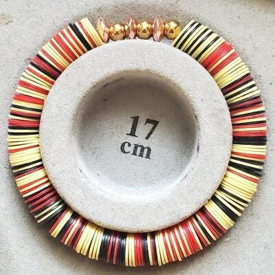 Recycled Vinyl Phono Beaded Bracelet