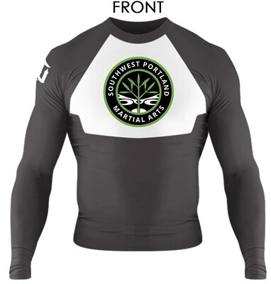 """Alpha"" Long Sleeve Rash Guard"
