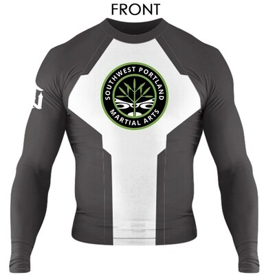 """Evolve"" Long Sleeve Rash Guard"