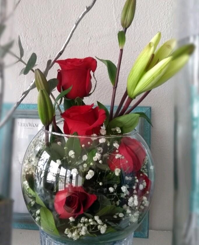 Esfera 5 rosas