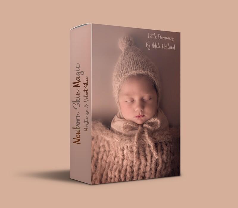 Newborn Skin Magic Actions for Photoshop CC