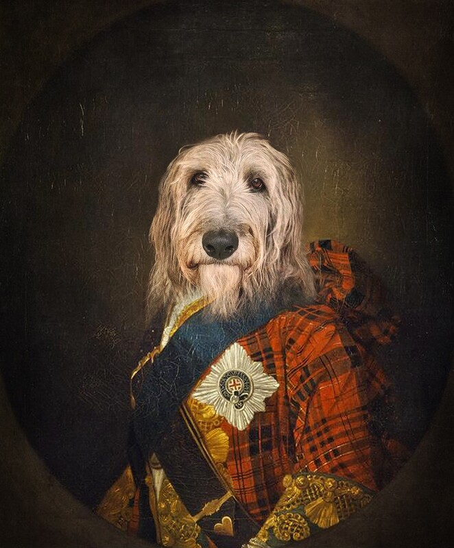 Regal Pet Portrait