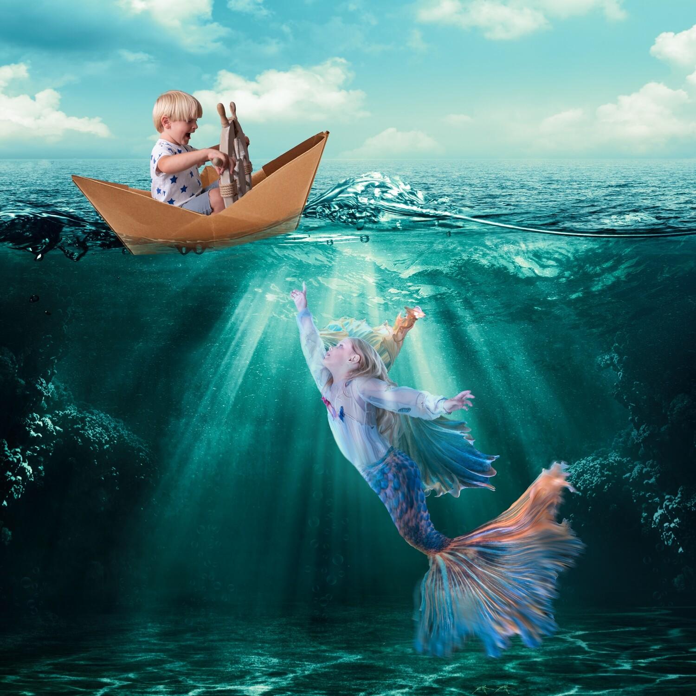 Magical Creative Photoshoot